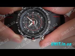 Водонепроницаемые наручные часы со скрытой камерой