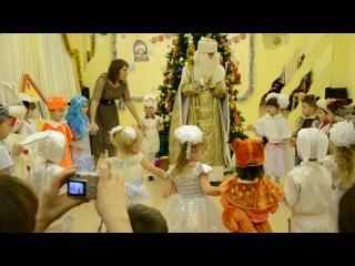 Новогодний утренник у дочки в детском саду (небольшой фрагмент) 27.12.13