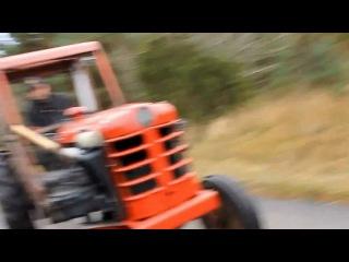 Турбо-трактор. Шведы.