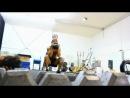 """Видео с тренировки актёров и каскадёров между съёмками фильма """"300 спартанцев: Расцвет империи"""""""
