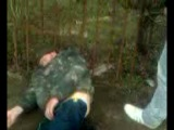 Встретили спящего пьяного на Калинина.=)