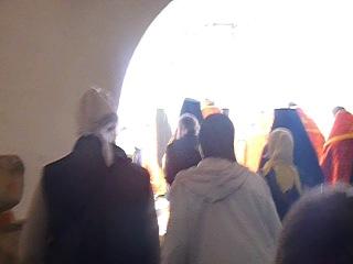 Соловки. Крестный ход в Соловецком монастыре на Праздник отдания Пасхи, 2013, часть 4