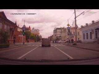 последствие аварии машины ГИБДД и иномарки в Тюмени | ДТП авария