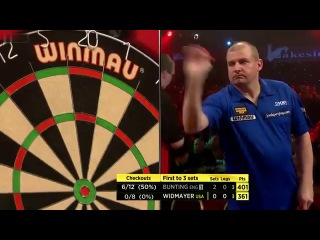 Stephen Bunting vs Jim Widmayer (BDO World Darts Championship 2014 / Round 1)
