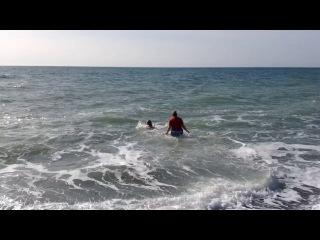 Это море в феврале! Сочи 2014