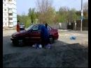 Дворник жжот !!Украина, Киев, Голосеевский район, Стратегическое шоссе