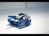Конструктор на солнечных батареях 3 в 1 (Робот, танк, скорпион)