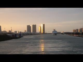 Майами с борта круизного лайнера