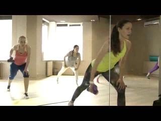 Анна Балуха - тренер групповых занятий фитнес-клуба