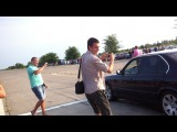 BMW 540 e34 4.0 механика vs. Toyota Camry 3.5 Кривой Рог