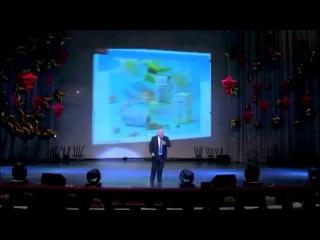 Нодар Газнели о продуктах компании FOHOW на празднике 6 летия компании в Москве.