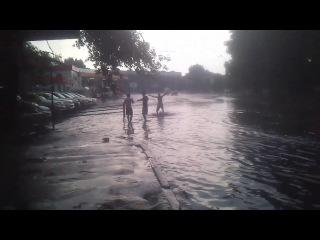 Потоп на улице))( Др+ день конституции)