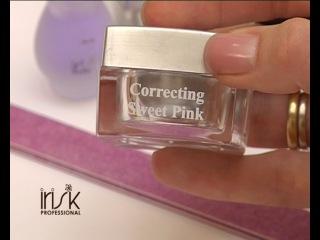 Укрепление ногтей розовым биогелем