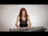 Dimmu Borgir - Blessings Upon The Throne Of Tyranny - piano cover ( part of song )