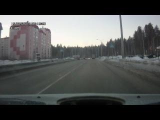 Метеорит в Снежинске. Утро 15.02.2013