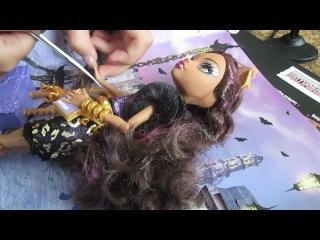 распаковка моей куклы монстер хай