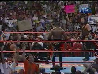 WCW NITRO 08.05.2000 - Титаны Рестлинга на канале ТНТ / Николай Фоменко