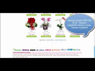 Samsun Çiçekci - En Renkli Çiçekler