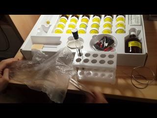 обзор набора юный химик