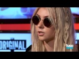 The Pretty Reckless Taylor Momsen on Naked Tour Poster & New A...