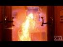 Взрыв газа на кухне в замедленной съёмке, Gas explosion in the kitchen (slow motion) Кормушка Уникальное Фото Видео Приколы Гифки