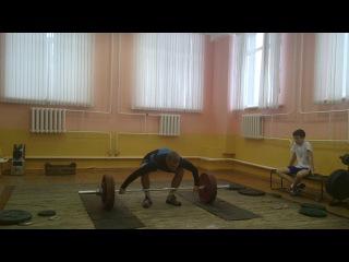 Коношевич Денис.рывок 135 кг.