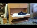 Мебель трансформер/Кровать, стол/раскладная мебель/идеи раскладывающейся мебели/решение для маленькой квартиры/решение для студи
