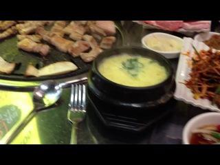Приготовление корейского супа