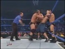[ WWE Smackdown 01.01.2004 - John Cena And Chris Benoit Vs The FBI