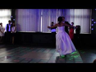 Свадебный фигурный  вальс  под мелодию из кинофильма
