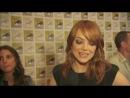 Emma Stone talks The Amazing Spiderman @ Comicon 2011