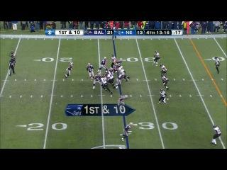 NFL 2012-2013 / AFC Championship / 20.01.2013 / Baltimore Ravens @ New England Patriots EN часть 2