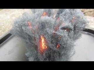 Как горит металл