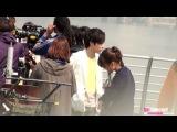 [FANCAM] 130404 Roy Kim - Kookmin Credit Card CF Filming #1