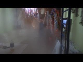 Ежик в тумане!!!Это РОССИЯ!!! г.Сургут -38'C