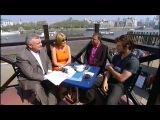 Алекс в интервью с 'This Morning' (UK) о фильме «Страшно Красив» (2011, англ)