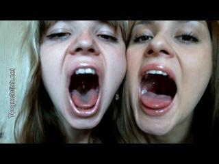 Tonguefetish - Karina & Gina