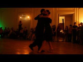 Эстебан Морено и Клаудия Кодега в тангомании 07.12.2013 - Indio Manso