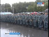Сводный отряд Управления МВД России по Новгородской области отправился в командировку на Северный Кавказ