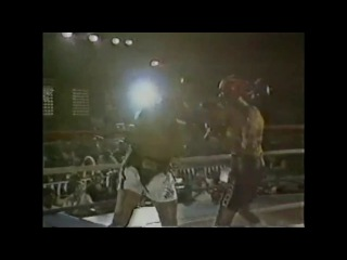 Спаринг Мухаммеда Али и Томаса Хернса(1981год)