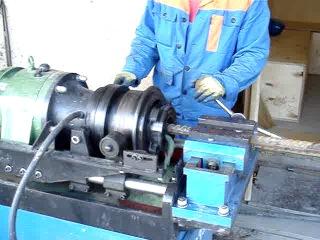 Муфта для соединения арматуры (изготовление)