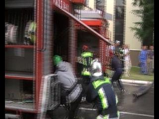 Пожарно-прикладной спорт. Боевое развертывание 1-е место 2013 г.