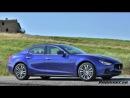 Автомобиль Maserati Ghibli (Мазерати Гибли). Видео тест-драйв