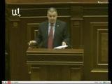 Выступление депутата парламента Армении Давида Арутюняна 25 февраля 2014 года