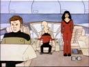 Beavis and Butt Head Капитан вы нарушаете интергалактические законы и типа того Star Trek Cover