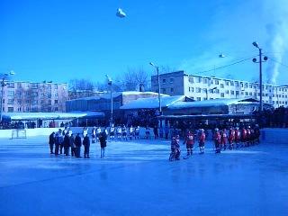Матч по хоккею 08.03.2013