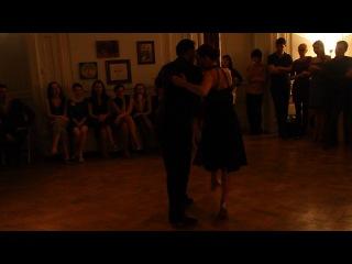 Эстебан Морено и Клаудия Кодега в Тангомании 07.12.2013 - Танго 2