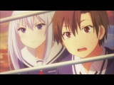 Меж двух огней - Девушки и подруги детства / Ore no Kanojo to Osananajimi ga Shuraba Sugiru - 3 серия [Tinko & Shina & W