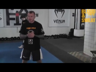 Семинар Александра Шлеменко (Проход в ноги)