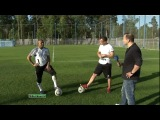 Играй Красиво с Роберто Карлосом, Футбольные финты  обучение, Дмитрий Карпов